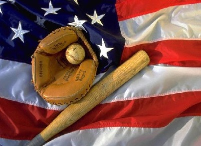 American_Flag_With_Baseball