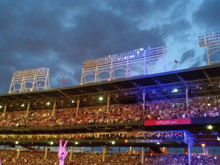 Wrigley and Pearl Jam--Awesome!